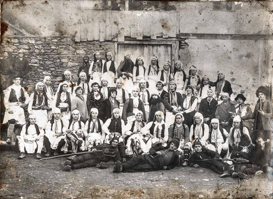 Русалииска група от Петрич кв.Виздол 1930 г.
