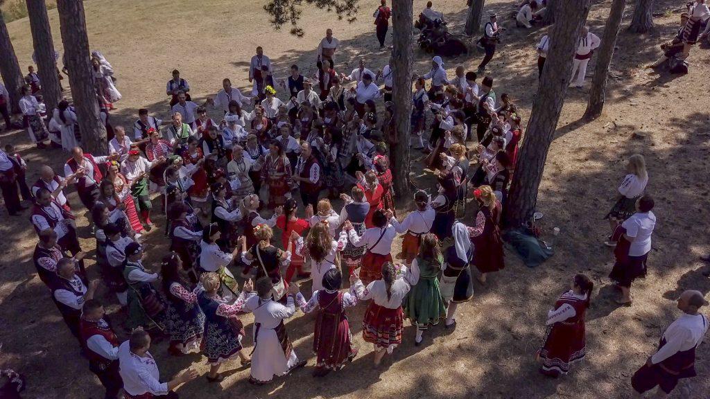 Моряците на Фестивал на фолклорната носия - Жеравна