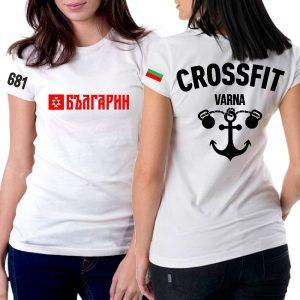 Дамска тениска Кросфит
